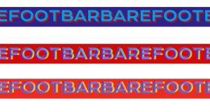 bar barefoot