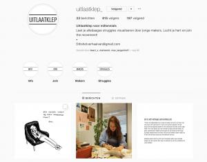 Instagram uitlaatklep